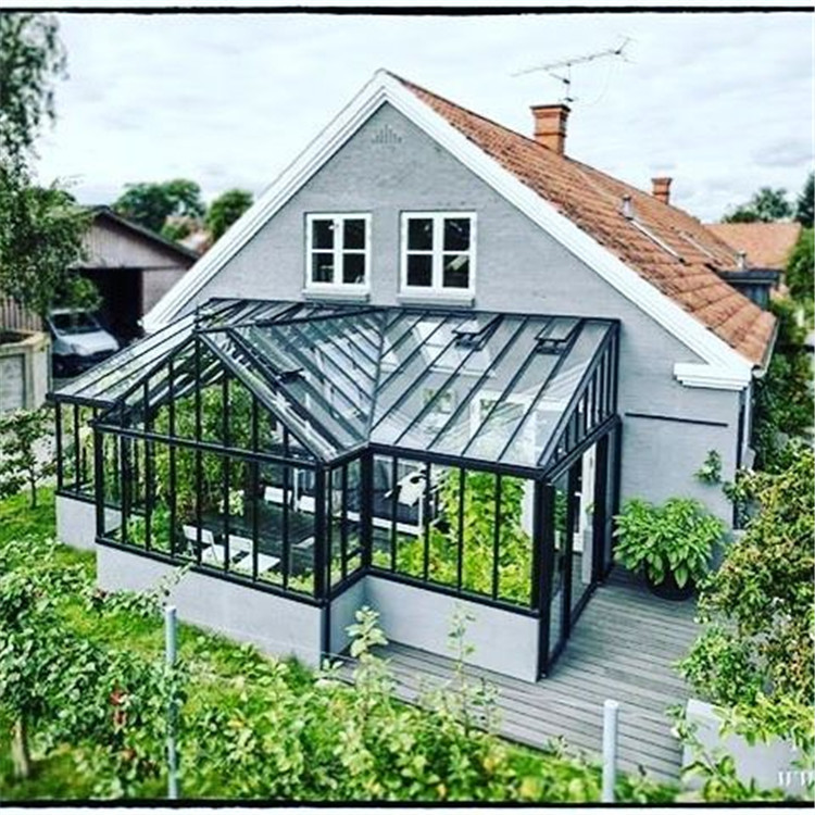Aluminium Lean-To Permaframe Conservatories Roof System Aluminum Prices Conservatory Greenhouse