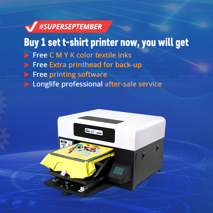 Digital printing machine for a3 uv t-shirt machine printing uv printer
