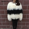 Latest Design Fur Coat For Women Genuine Mongolian Lamb Fur Coats Thick Warm Jacket For Winter