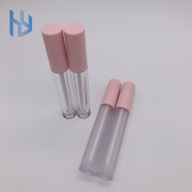 Private Label Frost Clear Pink Lip Gloss <strong>Tubes</strong>