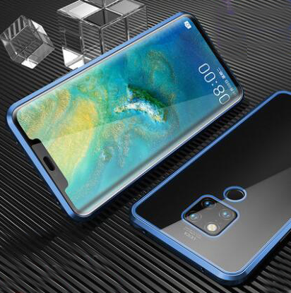 Double Side 360 Degree Magnetic Adsorption Glass <strong>Case</strong> For Huawei Mate 30 20 Pro <strong>10</strong> X P Smart <strong>Z</strong> Phone <strong>Case</strong> Cover