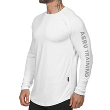 Men's <strong>Sports</strong> Outdoor Long sleeved Sweat Absorbent Basketball Running T-shirt