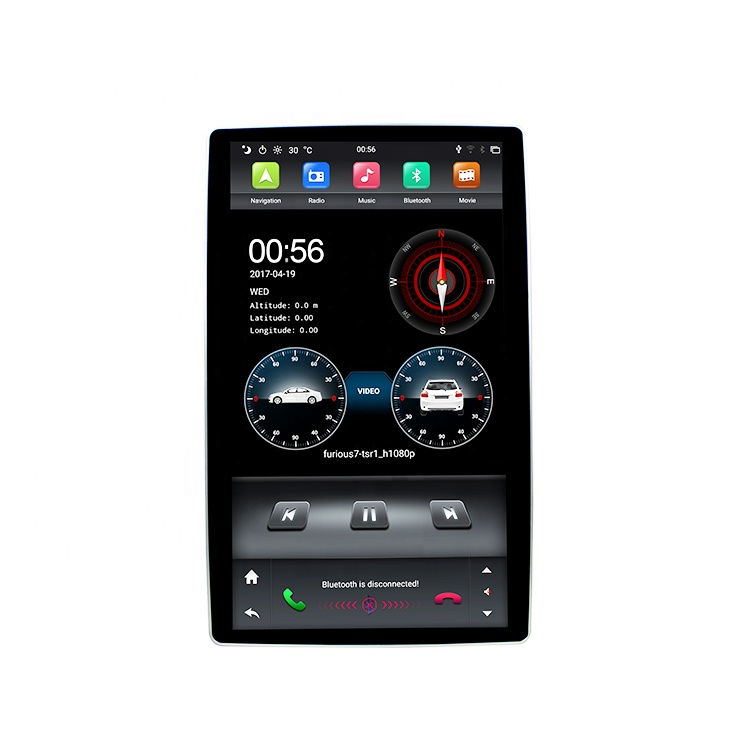 KD-1280 Android 9.0 system 1.6GHz 15dBM universal car dvd vcd cd <strong>mp3</strong> mp4 player for <strong>12</strong>.8inch universal model