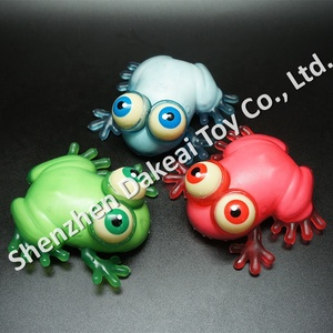 hot selling kids rubber frog toy,soft frog plastic toy