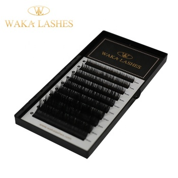 New Soft OEM Provide Custom Packing Individual Eyelash Extension 3D mink eyelash extensions