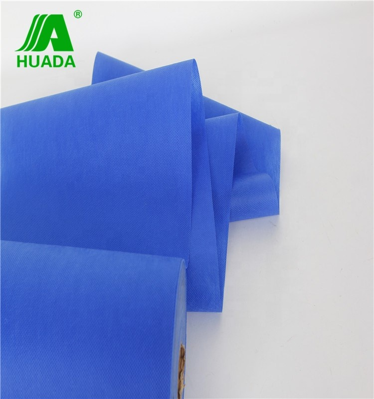 Disposable  SMS polyethylene spunbonded Non Woven  Fabric for SMS sheet