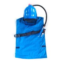 HOLDWIN Blue AIR Supplied <strong>Safety</strong> Sandblast Helmet Sandblasting Hood Protector with Shoulder Protective Face Hood