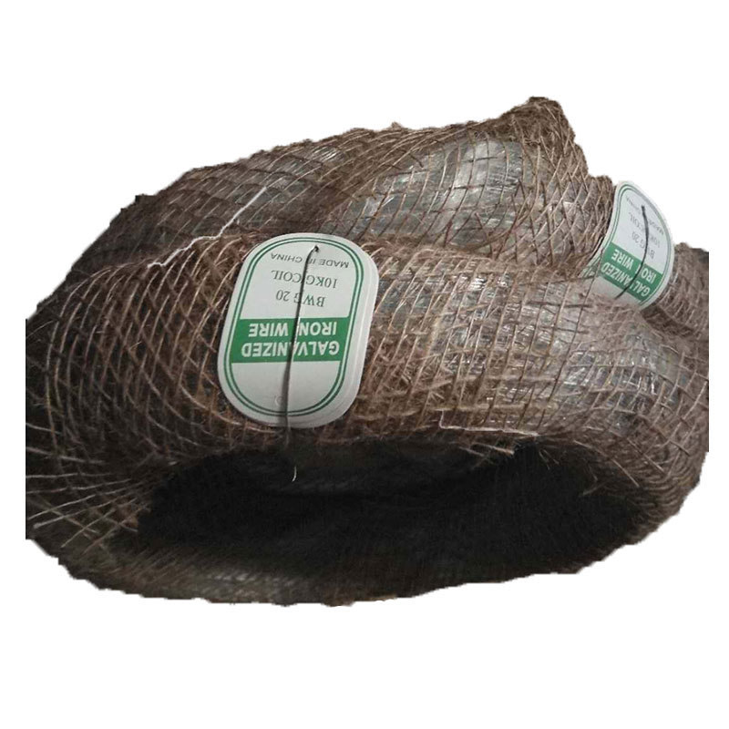 <strong>Q195</strong> Galvanized iron wire 20 gauge 25kg/roll heassion packing for construction
