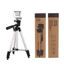 Factory Direct price lightweight camera mobile phone mini 3110 aluminum tripod stand