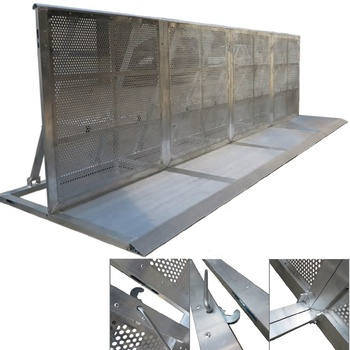 Folding Aluminium Concert Used Crowd Control Barrier for Sale