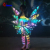 Best Supplier LED Dance Fancy Dress Angel Wings, Float Parade LED Dress Costume, Illuminated Clothing