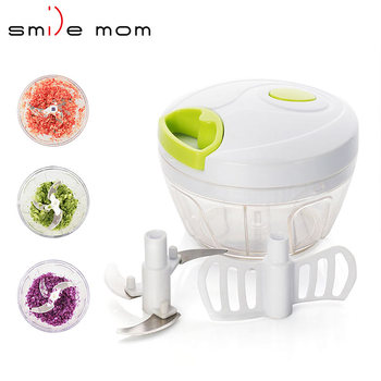 vegetable chopper dicer slicer cutter nicer vegetable handy mini plastic chopper with 3 stainless steel blades