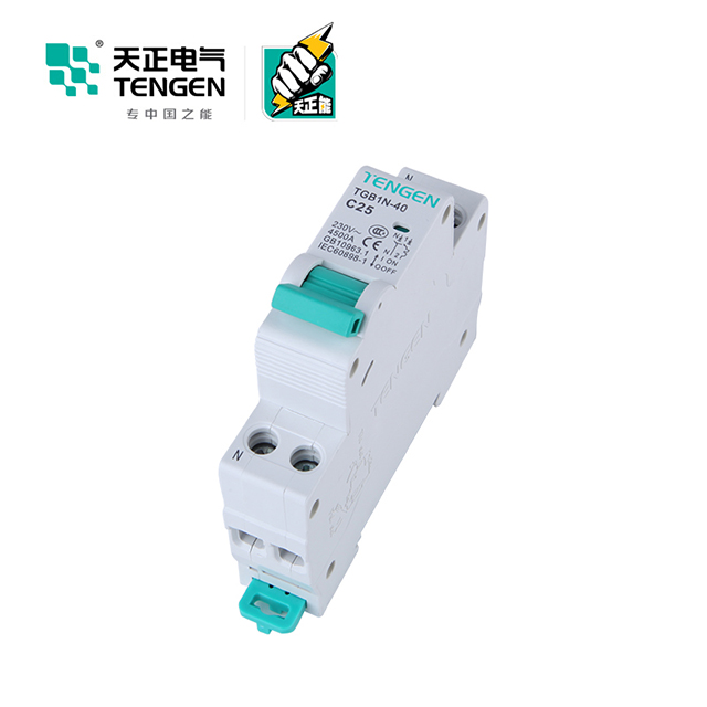 Hot <strong>sales</strong> single phase elcb 10 amp TGB1NLE-40 1P+N <strong>C10</strong> 30mA china rcbo 3 pole controllable ac earth leakage circuit breaker 10a