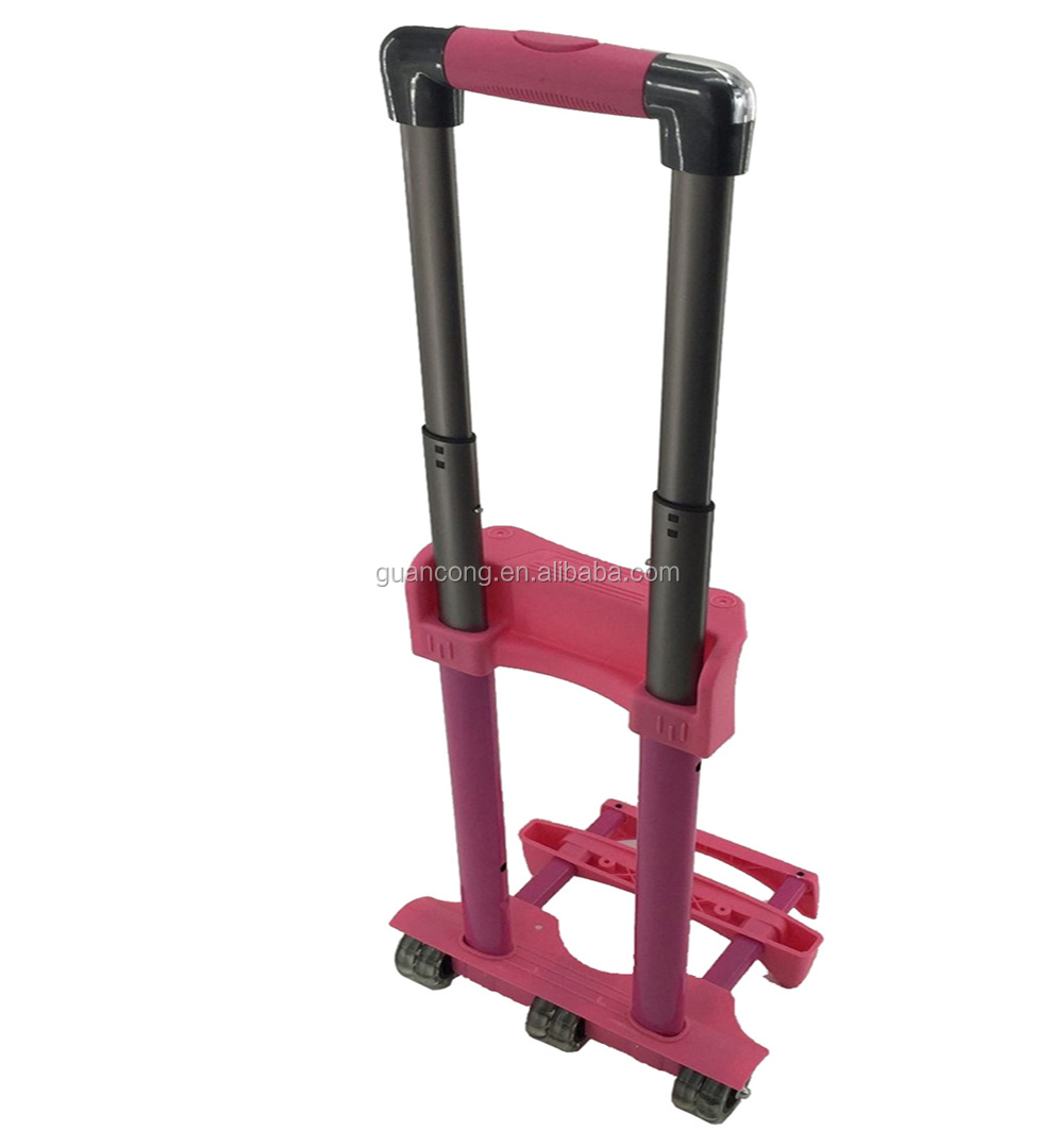 China Suppliers Suitcase Parts Trolley Iron Luggage Cart Accessories For Cases
