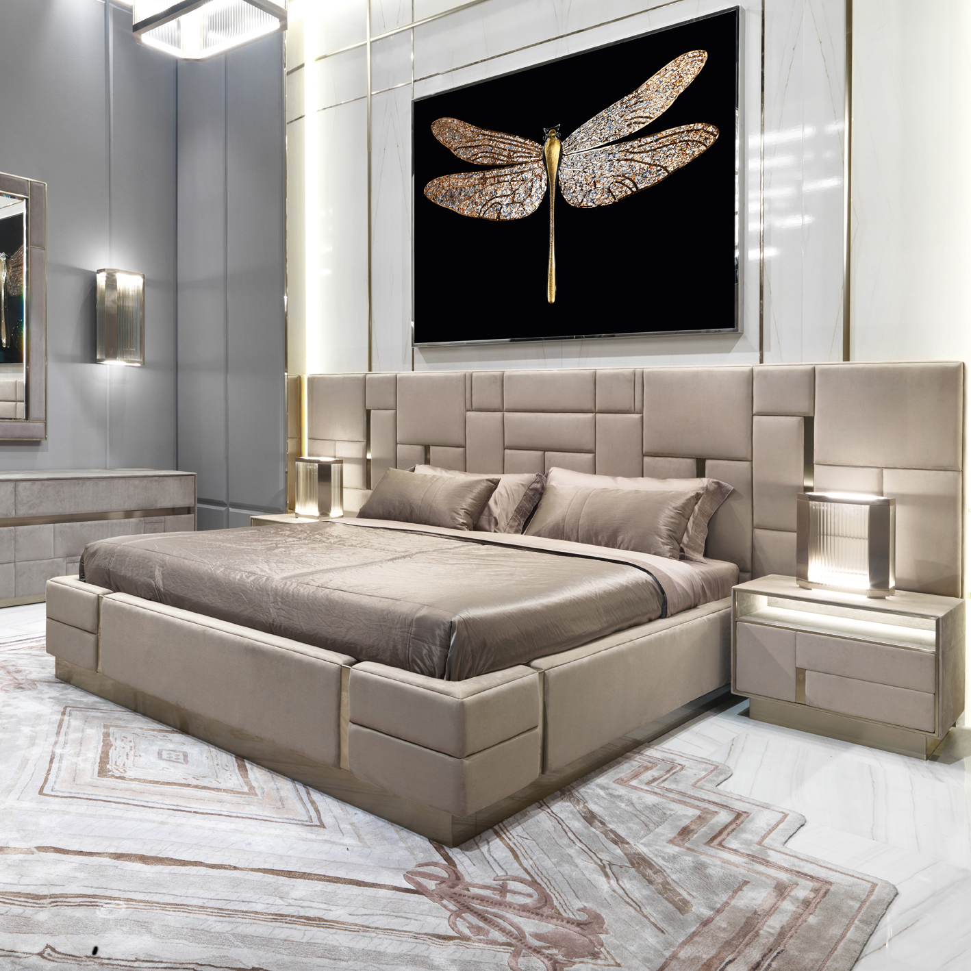 Luxury Italian Bedroom Set Furniture King Size Modern Italian Latest Double Bed Designer Furniture Set Leather Luxury Bed Buy Bed Designer Furniture Latest Double Bed Designs Leather Bed Product On Alibaba Com
