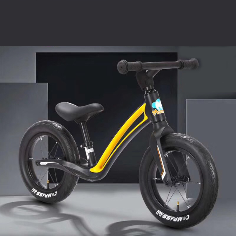 Magnesium Alloy balance bike without brake/exercise walking balance metal toy bike/ paddle less bikes kids balance <strong>cycle</strong>