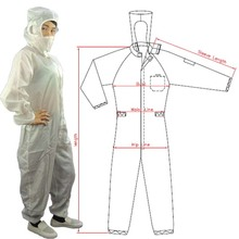 CR0101 Colorful Disposable Coverall <strong>Safety</strong> Coverall Two Piece Coverall