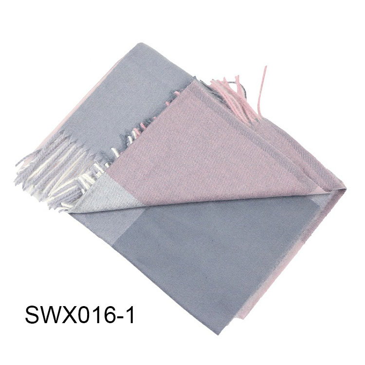 High Quality Fashion Men's Wool Woven Winter Warm Scarf