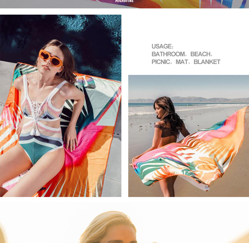 Custom Beach Towel Microfiber Bathroom Quick Dry Chair Blanket Gym Swim Towel Absorbent Personalized Bath Towel Dropshipping