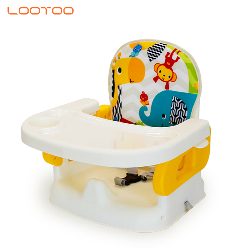 corporate promotional gift Trend cheap price portable baby kids dining table booster seat chair for kitchen eating with tray