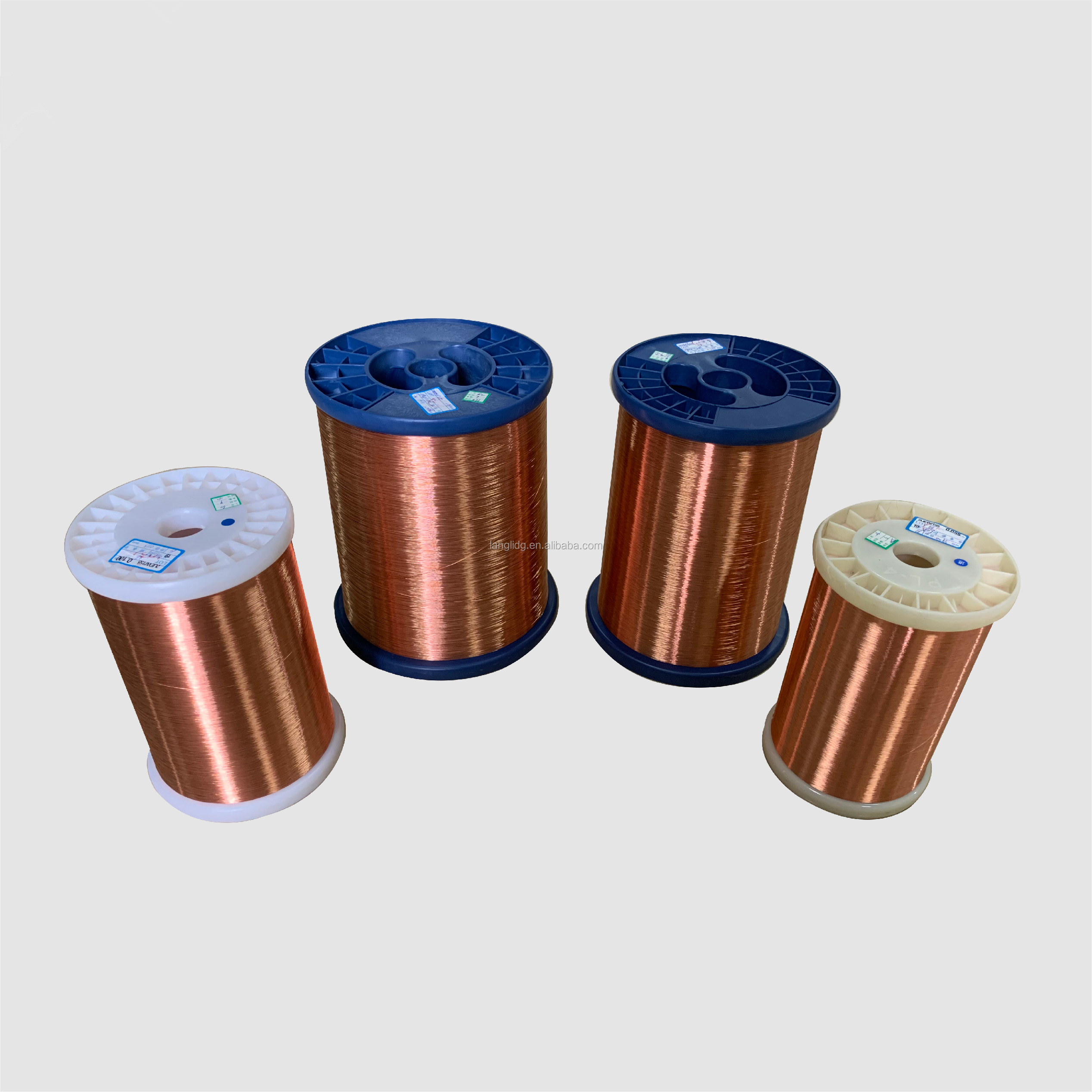 Class 155 - <strong>Copper</strong> - Round Conductors - Polyurethane coated magnet wire / winding wire