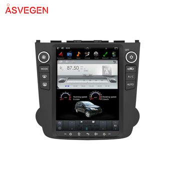 10.4'' Tesla Vertical Screen Android7.1 Car GPS Navigation Audio Radio BT Video Player For Honda CRV 2006-2011