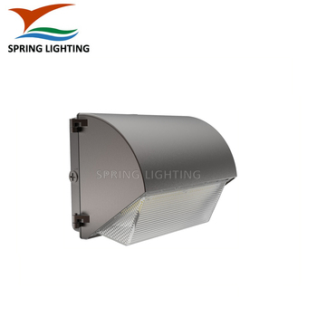 UL DLC LED Wall Pack 347V 480V Bronze Black White Finish 100W 150W Outdoor Wall Lamp