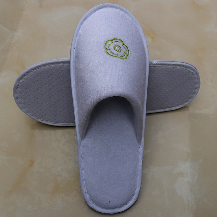Cheap Disposable Hotel Slippers, Unisex close toe Slippers