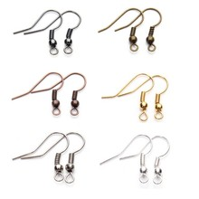 Factory direct sale OEM/ODM <strong>stainless</strong> steel gold plated earring hooks diy