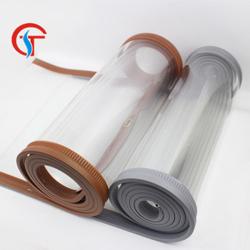 Transparent New Type Magnetic Self-priming Curtain Screen