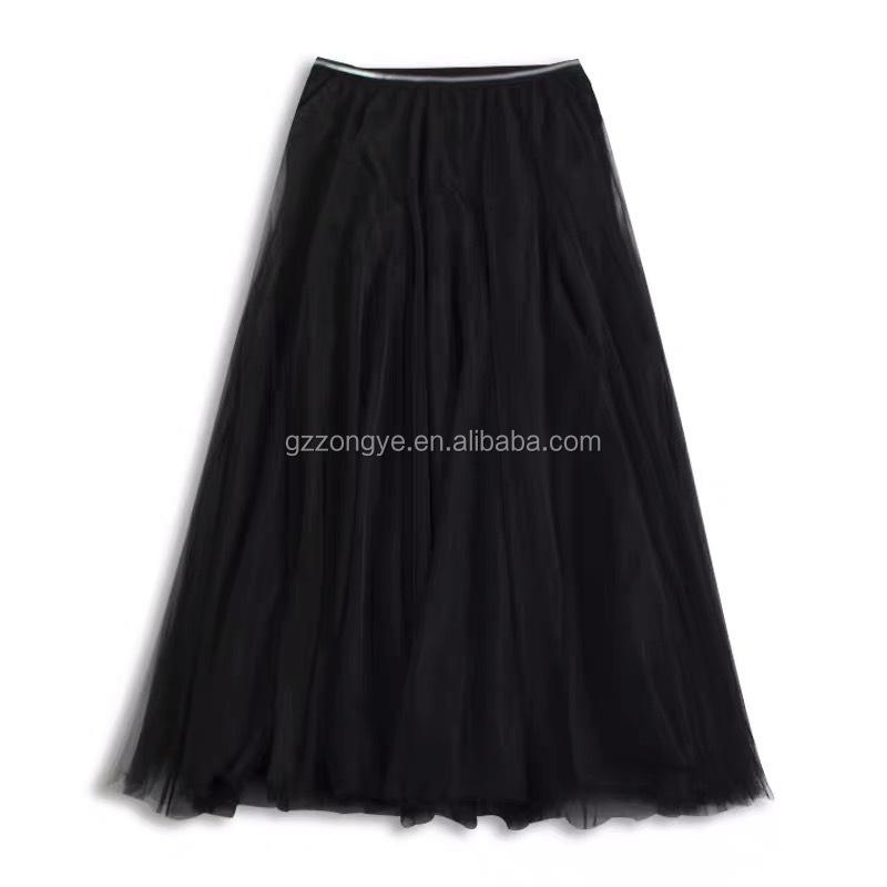 Fairy women pleated mesh skirt, gathers women beach skirts,  vacation style