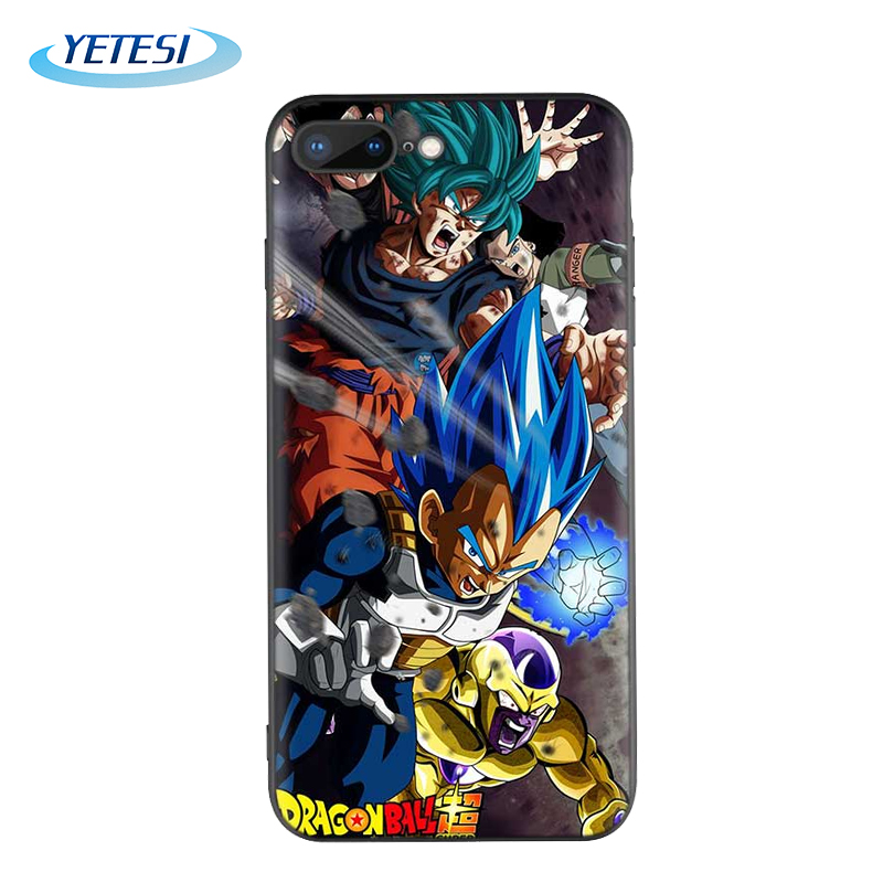 Custom Dragon Ball Back Cover Ultra Slim Silicone Phone Case for iPhone 11 XS 8 Coque Protector SE2020 Phone Cover