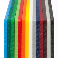 XINTAO Free Colored Perspex Cast/Extruded Acrylic Sheet Samples