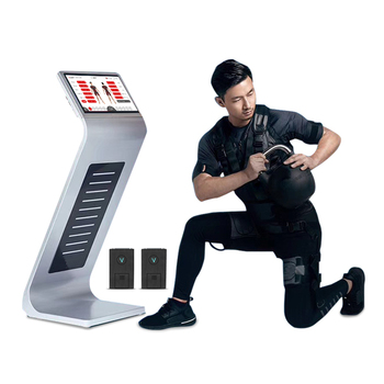 Workout EMS Fitness equipment / Wireless ems suit muscle stimulation training machine
