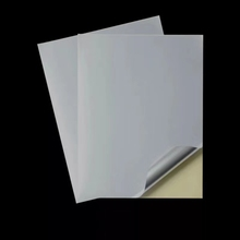 700*1000MM 80gsm top,90gsm bottom water base back slit and printing cast coated sticker <strong>paper</strong>