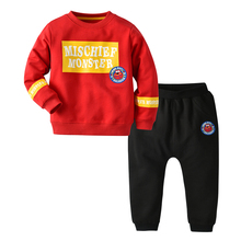 Wholesale <strong>children</strong> clothes boy clothing <strong>set</strong> long sleeve tops+pants baby boy clothes 2pcs <strong>set</strong>