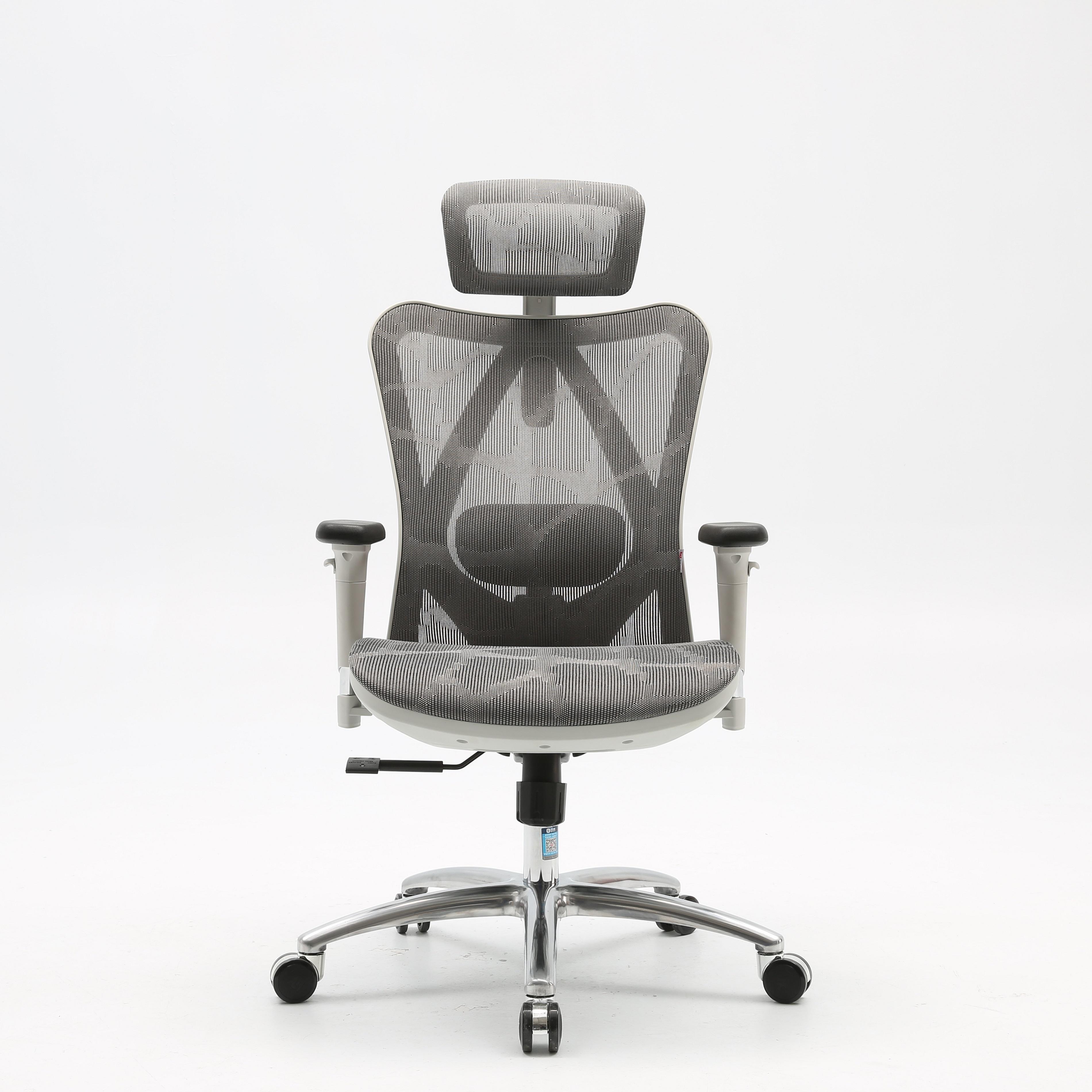 Sihoo Hot Sale Full Mesh Ergonomic 47d Armrest Chair Luxury Full