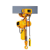 Customized design 220V 380V 415V three phase 0.5 ton ~ 50 ton electric chain hoist supplier
