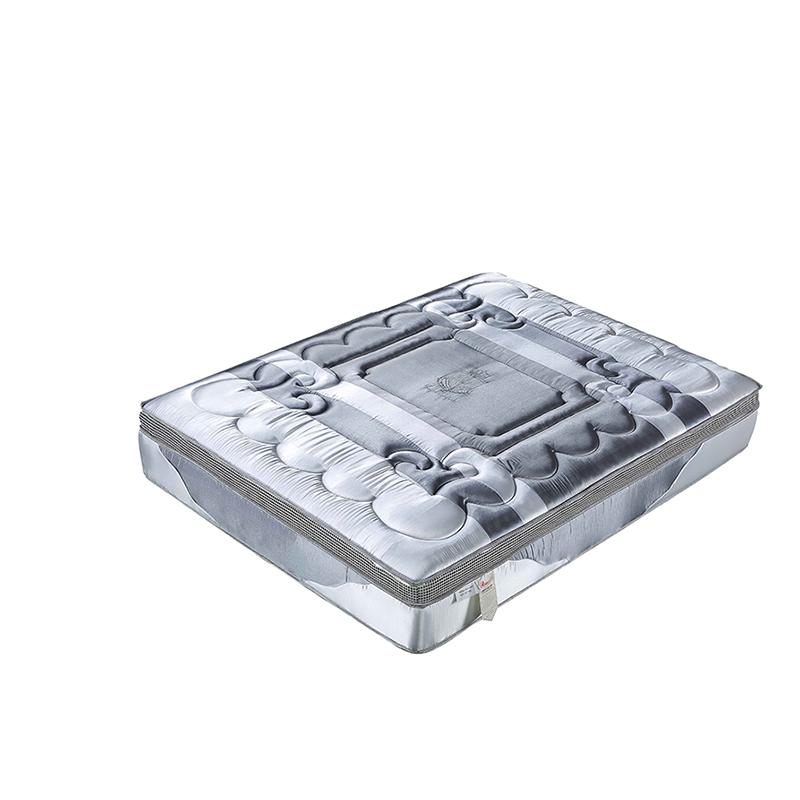 Factory wholesale compress cotton memory foam pocket coil inner spring mattress - Jozy Mattress | Jozy.net