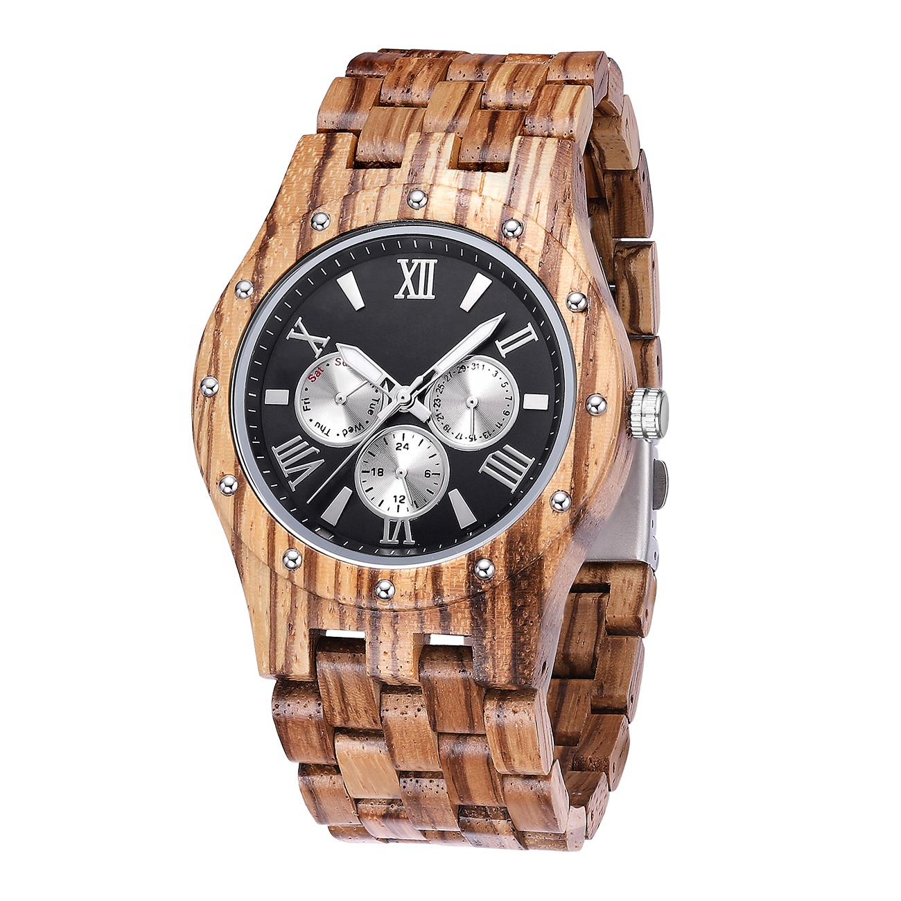 Droshipping Customer YOur Private Logo Wood Grain Watch