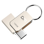 Hot sell mini type c metal usb3.0 usb flash drive128 gb 64gb 32gb 16gb with custom logo PD059