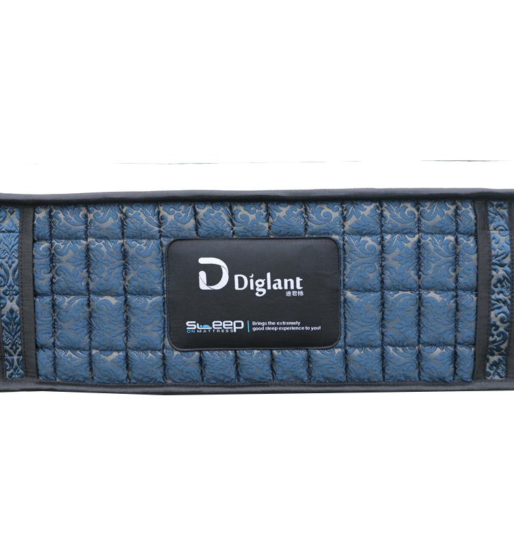 D37 Diglant 5 star bedroom inflatable pocket spring 12 inch queen king xxxn foam memory high quality latex hotel mattress - Jozy Mattress   Jozy.net