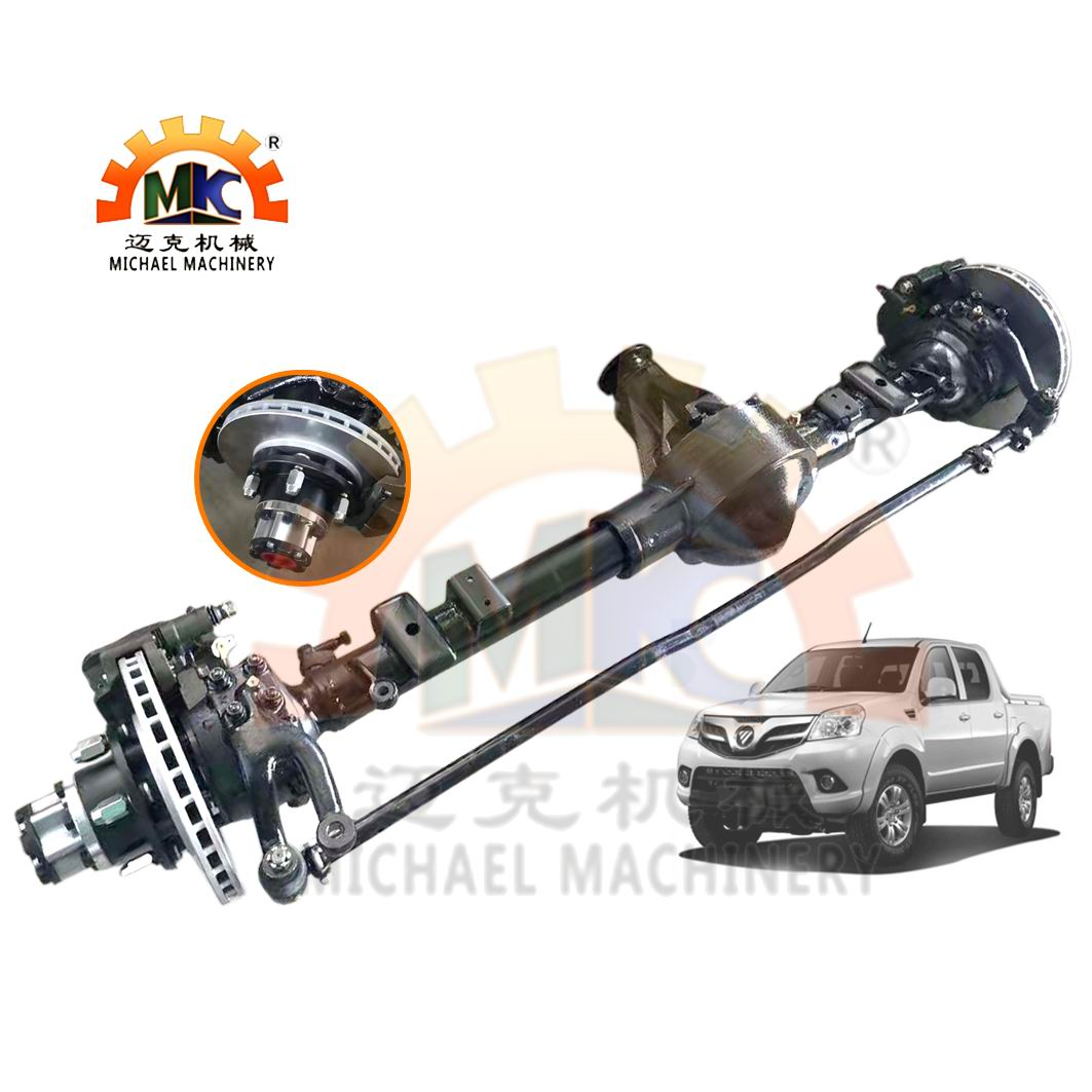 4x4 SUV Foton Tunland Pickup Front Wheel Drive Axle with E-Locker Differential