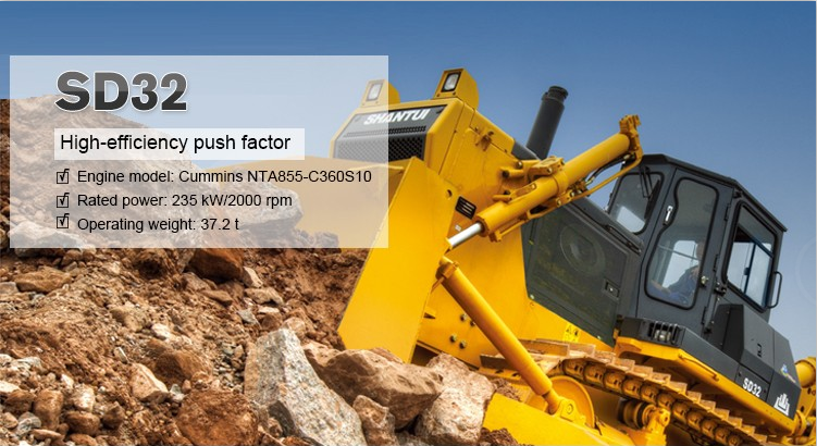 Factory price product bulldozer shantui sd32 from china