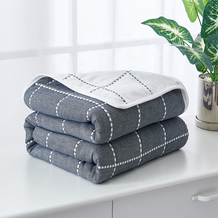 Top Quality Classical Large Grey Warm Throw Blanket For Sale <strong>Plaid</strong>
