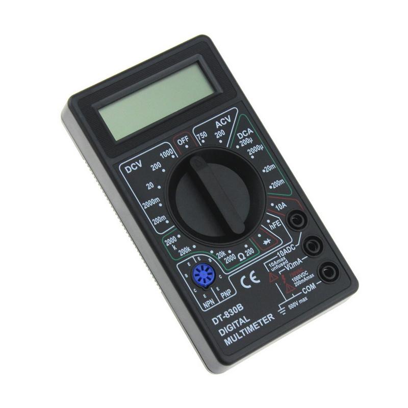 DT830D Cheap Digital Multimeter with Buzzer Ohm Voltage Ampere Meter