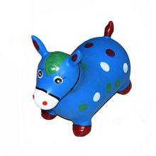 Cheap price PVC inflatable jumping animal toy for children
