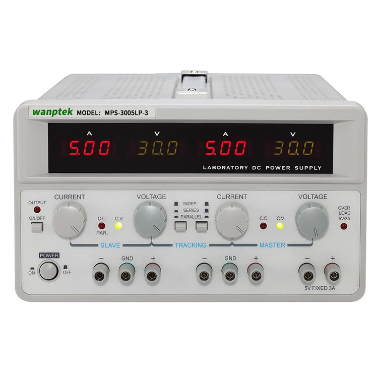 MW MPS-3005LP-3 30V 5A Precision Digital Adjustable <strong>Switching</strong> Multi Channel Output Analog Lab Bench DC Power Supply