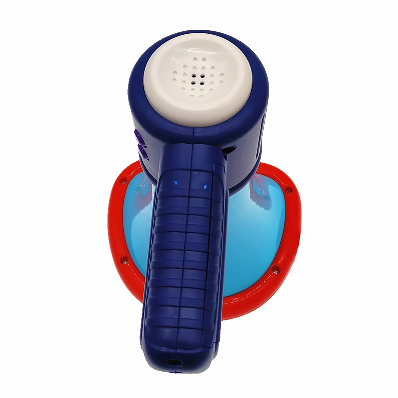 Top sale new gift plastic funny voice changer horn toy Mini children loudspeaker with battery for kids