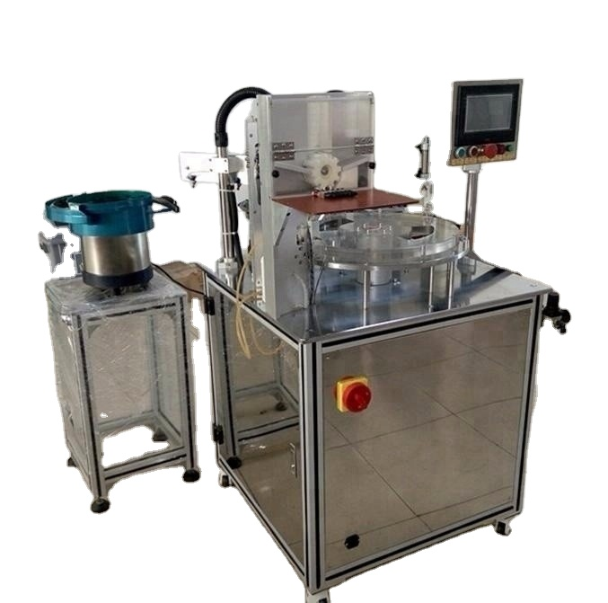 LM-C1200 automatic thick CBD THC oil cartridge filling and <strong>capping</strong> machine